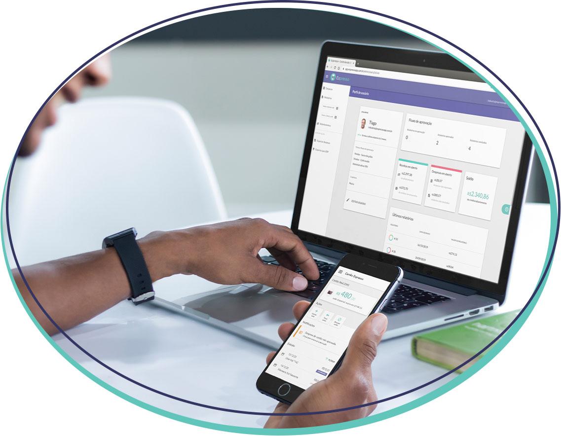 Financeiro com uma prestação de contas segura e digitalizada